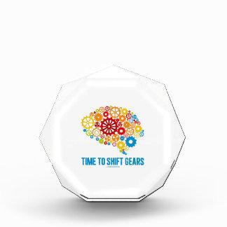 Time To Shift Gears (Gears Brain) Acrylic Award