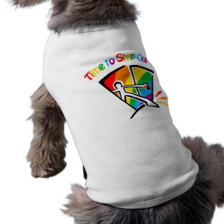 Time to step out pet t shirt