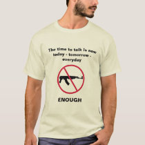 Time to talk about gun control T-Shirt