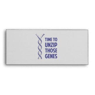 Time To Unzip Those Genetic Genes Envelope