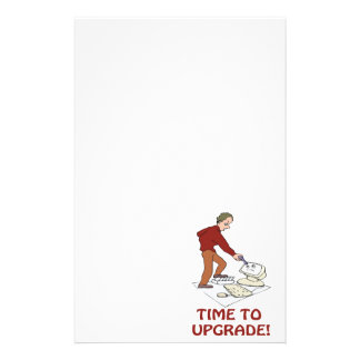 Time To Upgrade Customized Stationery