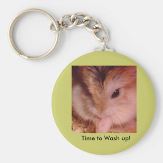 Time to Wash Up! Keychain
