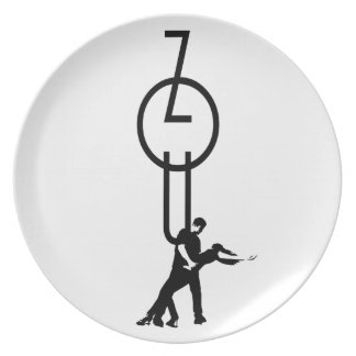 time ton zouk dinner plate