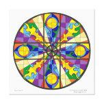Time Travel 1 Mandala Canvas Print