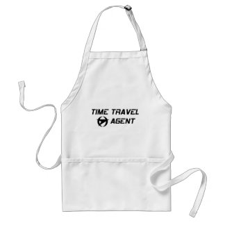 Time Travel Agent Adult Apron
