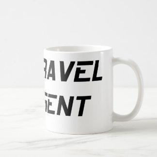 Time Travel Agent Classic White Coffee Mug