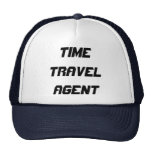 TIME TRAVEL AGENT HATS