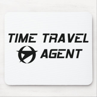 Time Travel Agent Mouse Pad