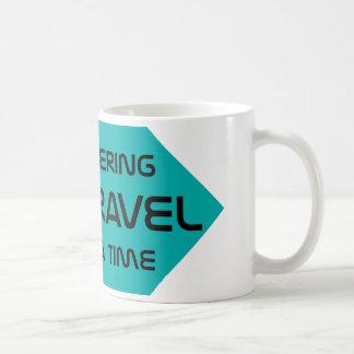 Time Travel Classic White Coffee Mug