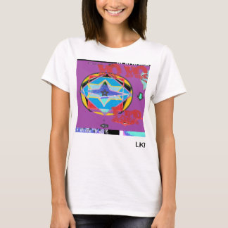 time travel, clock fractions 21color waves full... T-Shirt