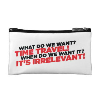 Time Travel Cosmetic Bag