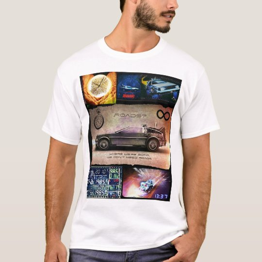 Time Travel in the Movies 1980's T-Shirt