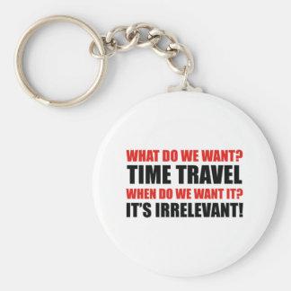 Time Travel Keychain