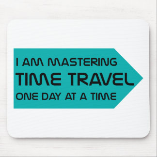 Time Travel Mouse Pad