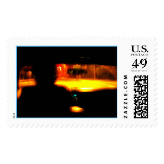 TIME TRAVEL POSTAGE STAMP