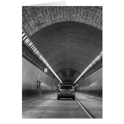 Time Travel Tunnel Greeting Card