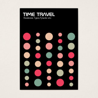 Time Travel v1.2 - Colors 01 Business Card