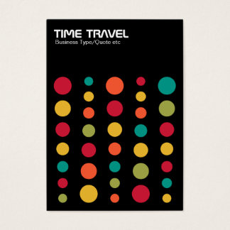 Time Travel v1.2 - Colors 02 Business Card