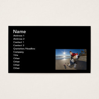 Time Traveler Business Card