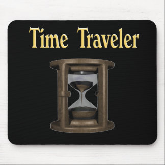 Time traveler mouse pad