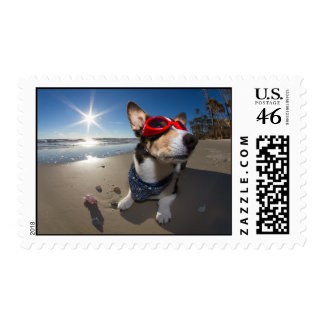 Time Traveler Postage Stamp