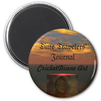 Time Travelers' Journal by cricketdiane Refrigerator Magnets
