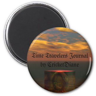 Time Travelers' Journal by cricketdiane Refrigerator Magnet