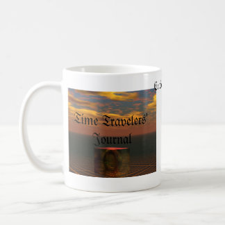 Time Travelers' Journal by cricketdiane Classic White Coffee Mug