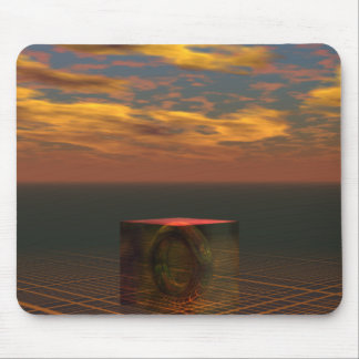 Time Travelers Journal SciFi Art CricketDiane Mouse Pad