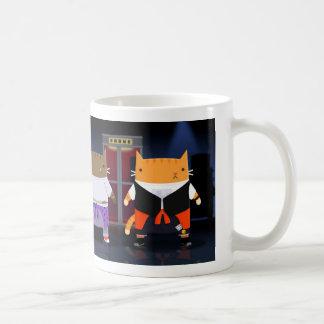 Time Traveling Cats Coffee Mug
