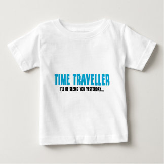 Time Traveller - I'll Be Seeing You Yesterday Baby T-Shirt
