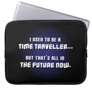 Time Traveller Laptop Computer Sleeve