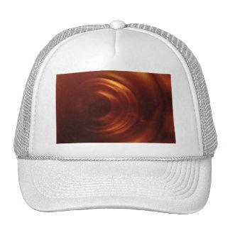 Time Traveller's Orange Vortex Trucker Hat