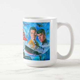 Time tunnel classic white coffee mug
