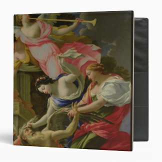 Time Vanquished by Love, Venus and Hope 3 Ring Binder