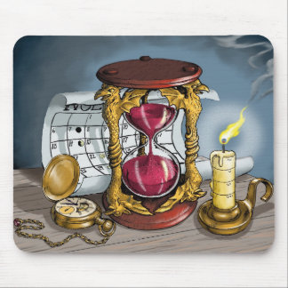 Time Waits for Nobody Mouse Pad