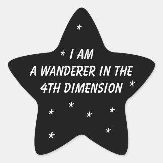 Time Wanderer Star Sticker