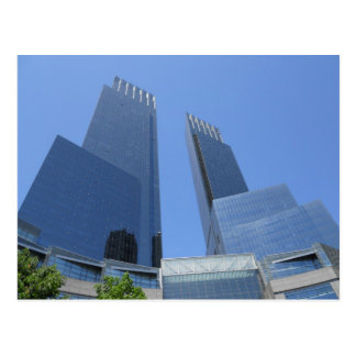 Time Warner Center Postcard Manhattan New York