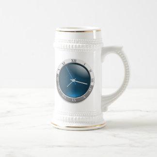 Time Watch Face Coffee Mug