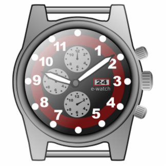 Time Watch Face Acrylic Cut Out