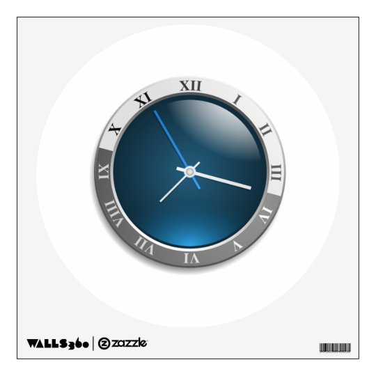 Time Watch Face Wall Sticker
