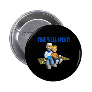 Time Well Spent Pinback Buttons