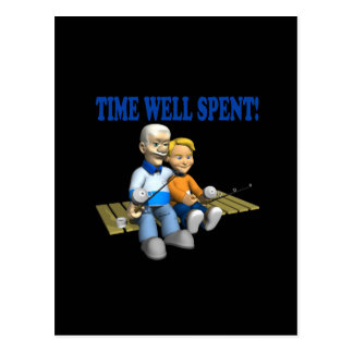 Time Well Spent Postcard