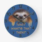 Time What's That Then Wall Clock