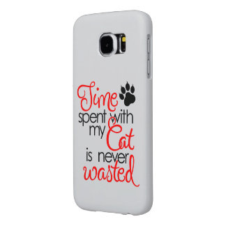 TIme With Cat Samsung Galaxy S6 Case