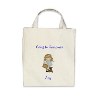 Time with Grandma Canvas Bags