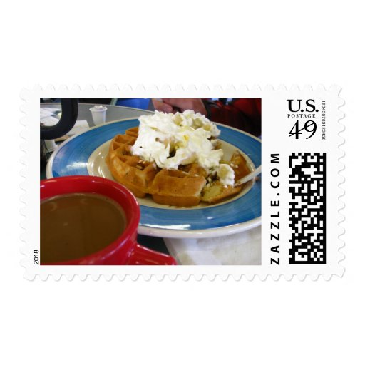 Time with you - the most important meal of the day postage stamp