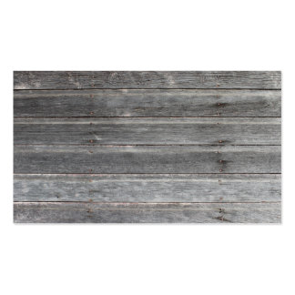 Time-Worn (weathered) Wooden Wall Calling Card Business Card