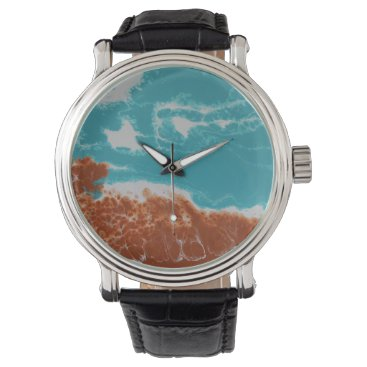Beach Themed Time Wrist Watch