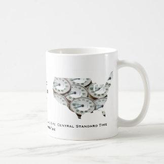 Time Zone Pocket Watch Coffee Mug